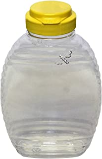 Mann Lake CN536 12-Pack Bee Squeeze Bottle with Yellow Flip Top Lid, 12-Ounce