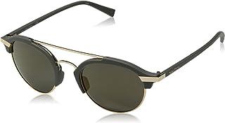a8618dcf282ed Óculos Nautica N4629Sp 014 Cinza Fosco Ouro Lente Polarizada Cinza Flash Tam  50