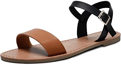 Best black and brown sandals Reviews