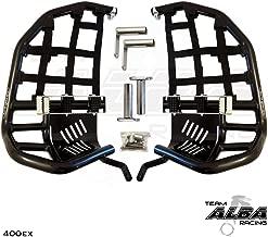TRX 400EX SPORTRAX Honda Compatible (1999-2014) Propeg Nerf Bars Black Bars w/Black Net