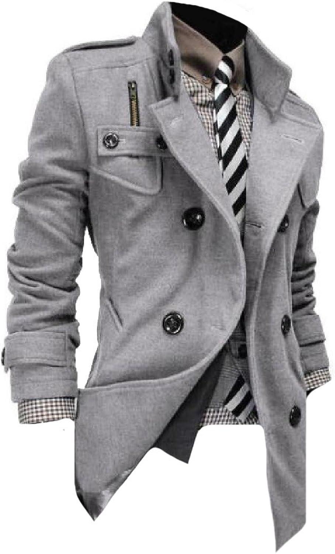 0b281b14d3e0e9 Comfy Comfy Comfy Men's Original Fit Chunky Longline Travel Safari Overcoat  37813a