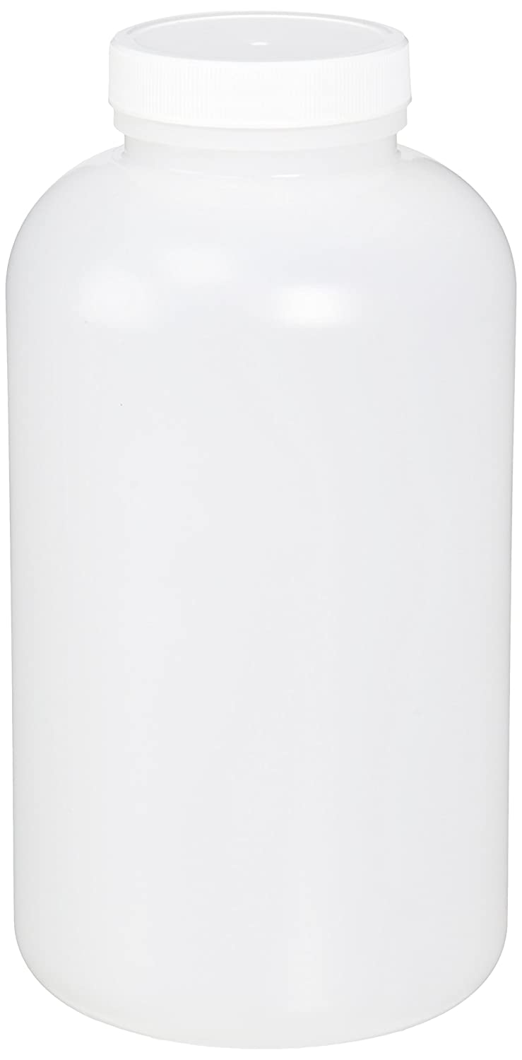 Qorpak PLC-03606 Natural Max 56% OFF HDPE Wide Bottle with 53-40 Sales Mouth Round