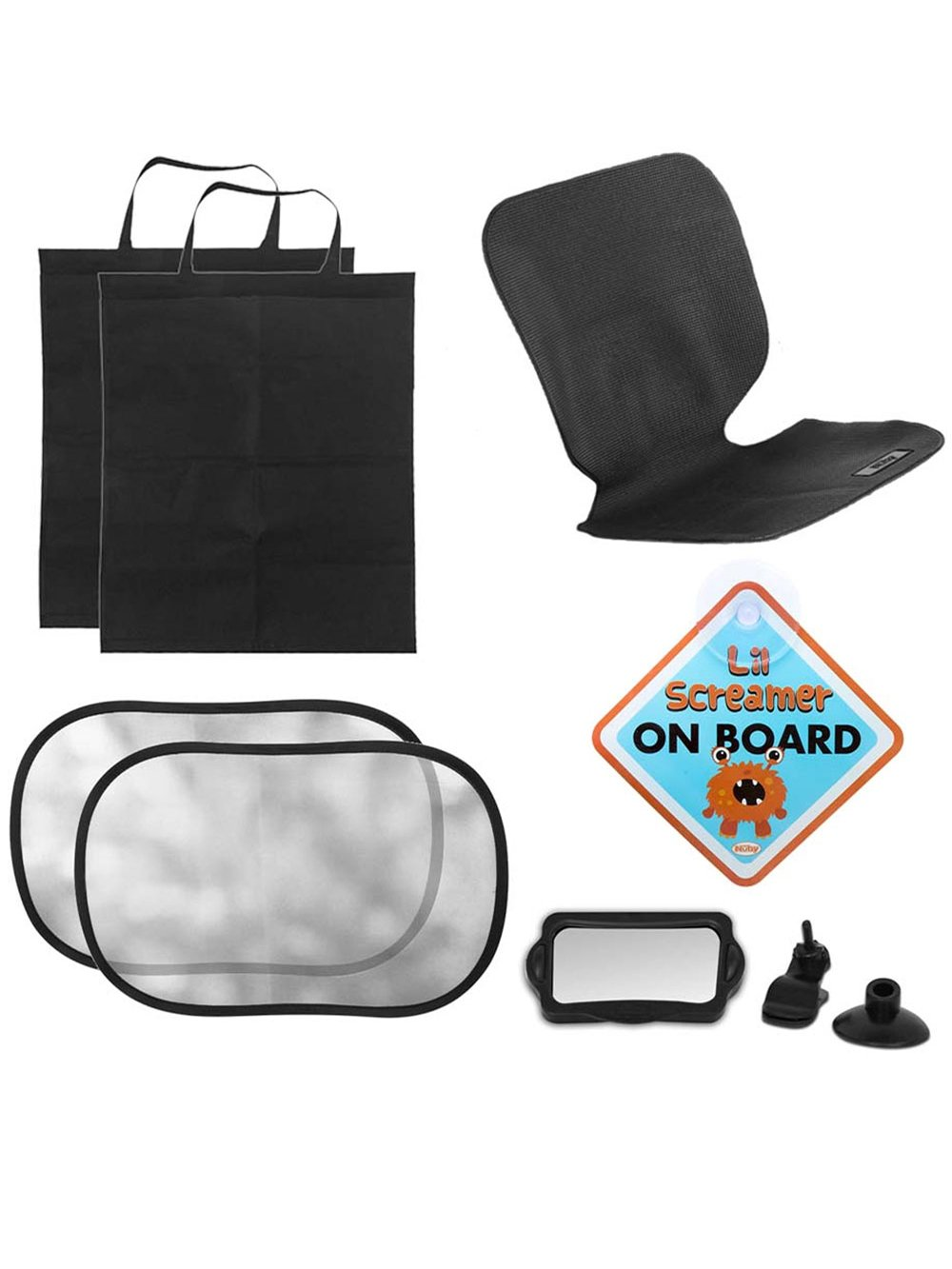 Nuby Deluxe Car Seat Accessory Set