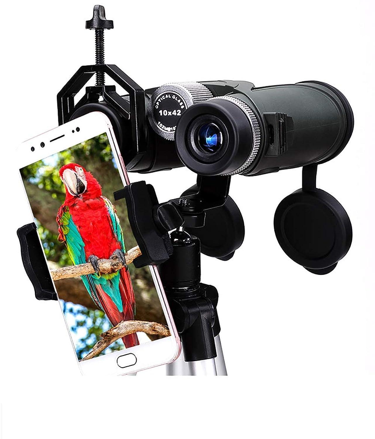New Mobile Phone Camera Lens Kit, 10x Zoom Telephoto Lens, 4k HD Super Long-Range Shooting, Suitable Travel, Mountaineering, Watching Wildlife Scenery.