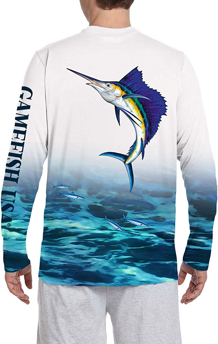 Direct store GAMEFISH USA UPF 50+ Microfiber Moisture Long Per Wicking Sleeve Excellent