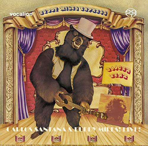 Buddy Miles & Carlos Santana - Buddy Miles: Booger Bear & Carlos Santana and Buddy Miles: Live! [SACD Hybrid Multi-channel]