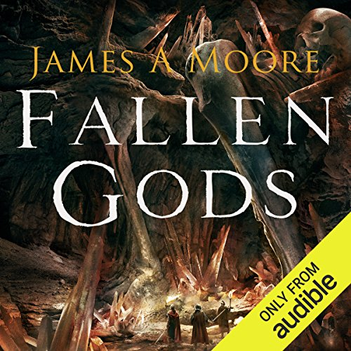 Fallen Gods     Tides of War, Book 2              By:                                                                                                                                 James A. Moore                               Narrated by:                                                                                                                                 Adam Sims                      Length: 10 hrs and 12 mins     1 rating     Overall 4.0