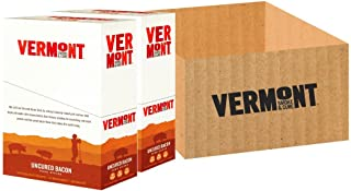 Vermont Smoke and Cure Gluten Free, Pork Meat Sticks, Bacon, 1oz Stick, 48 Count