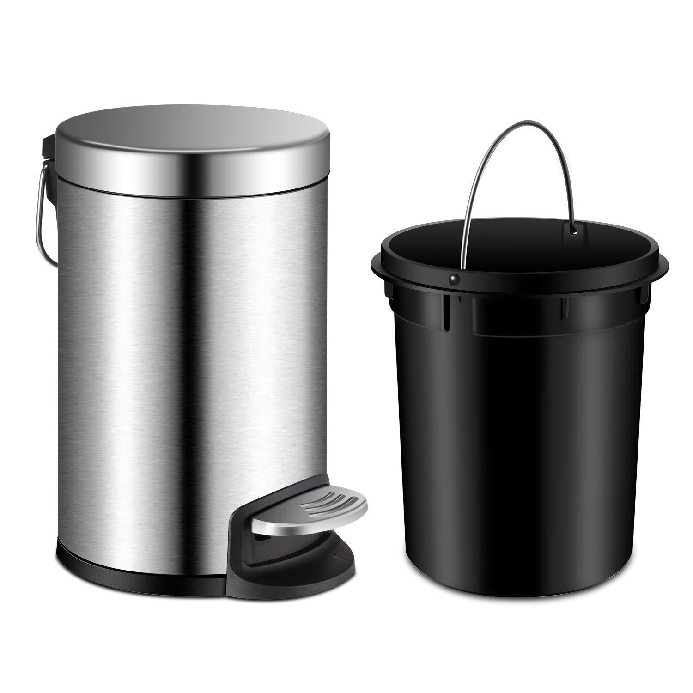 YCTEC Removable Wastebasket Anti Fingerprint Stainless