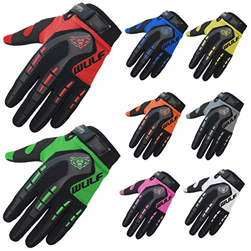 Wulfsport Kinder Handschuhe Stratos XS blau Moto Cross Quad BMX Enduro Motorrad