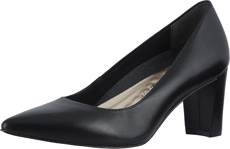 Walking Cradles Samantha Black Leather 8.5 W (D)