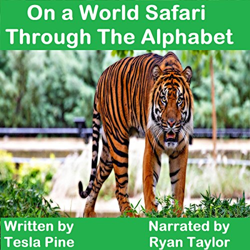 On a World Safari through the Alphabet audiobook cover art