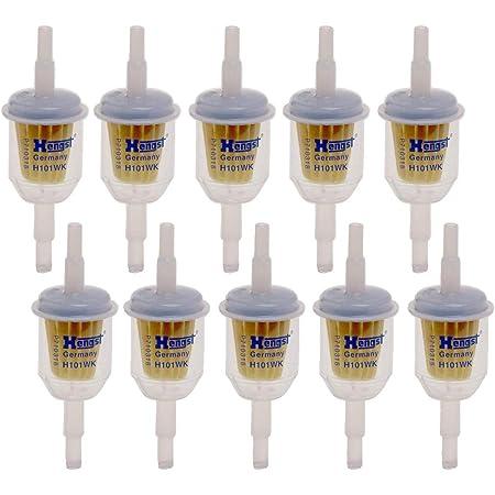10 X Kraftstofffilter Hengst H101wk Universal Benzinfilter Universalfilter Auto