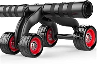 Abdominal Oefening Roller Wheel Taille Belly Spier Exerciser Apparatuur Vierwiel Roll AB Roller Abdominal Trainer Indoor H...