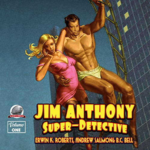 Jim Anthony: Super-Detective  By  cover art