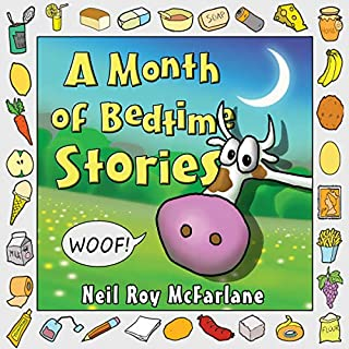 A Month of Bedtime Stories audiobook cover art