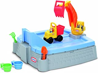 Little Tikes Big Digger Sandbox (Deluxe Pack: Include Toys & Cover)