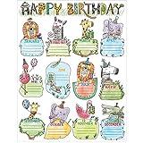 preschool birthday chart - Creative Teaching Press Wall Safari Friends Happy Birthday Chart (2793)