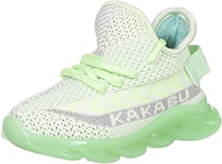 HOPPIPOLA Unisex Kids' Green Sneakers