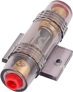 sourcing map Sourcingmap® 100A Mini ANL Car Audio Fusible 8 o Cable de alimentación Calibre