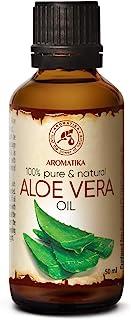 Aloe Vera Öl 50ml - Aloe Barbadensis - Brasilien - Basisöl - Raffiniert - für Gesicht - Körper - Haare
