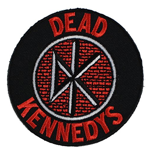 """Dead Kennedys, Logo, Officially Licensed Original Artwork, 3"""" x 3"""" - Iron-On"""