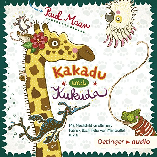 Kakadu und Kukuda                   By:                                                                                                                                 Paul Maar                               Narrated by:                                                                                                                                 Mechthild Großmann,                                                                                        Laura Maire,                                                                                        Peter Kaempfe,                   and others                 Length: 1 hr and 19 mins     Not rated yet     Overall 0.0