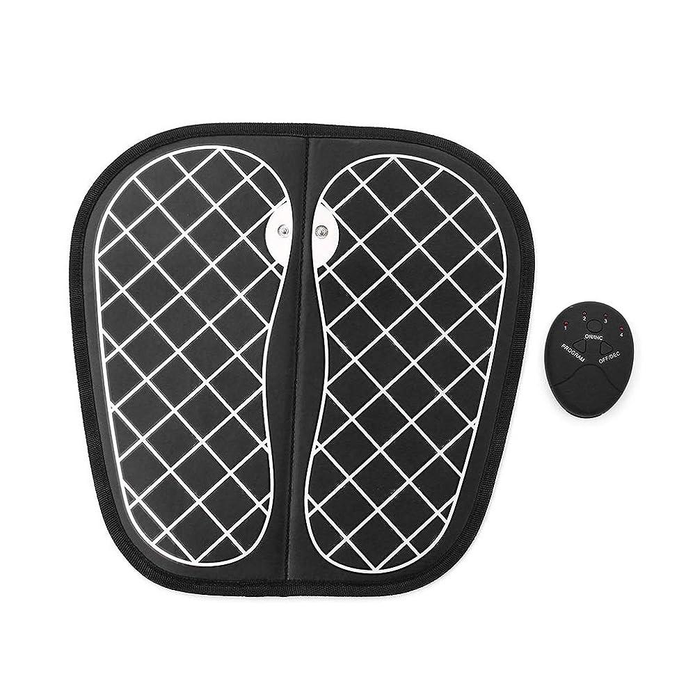 最小化する裂け目感度EMSフットマッサージャー、折りたたみ携帯用電気マッサージマット、電子筋肉理学療法マッサージ器は、血液循環を改善します