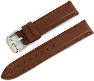 Cassis Type DW Genuine Calf Leather Waterproof Lining Watch Strap for 36mm Daniel Wellington Watches 18mm with Tool