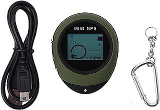 Dilwe Mini GPS Navegación, portátil GPS posición bestimmungs Tracker con Kay Cadena para Senderismo Viajes