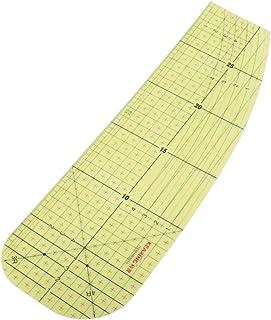 Régua de patchwork para costura Baoblaze para passar a ferro/costura/artesanato