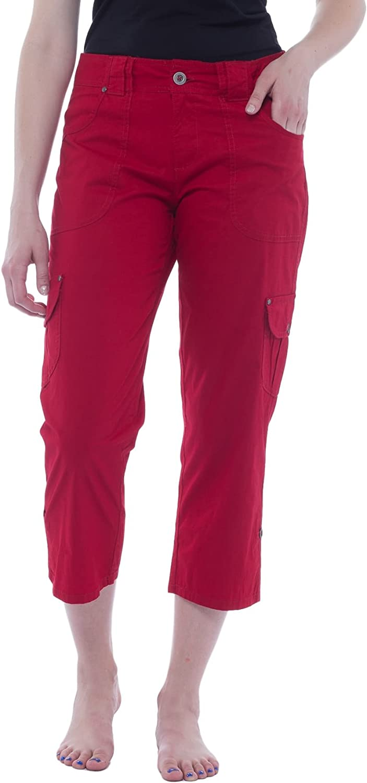 Alki'i Women's Capri Pant with Utility Pockets 2157