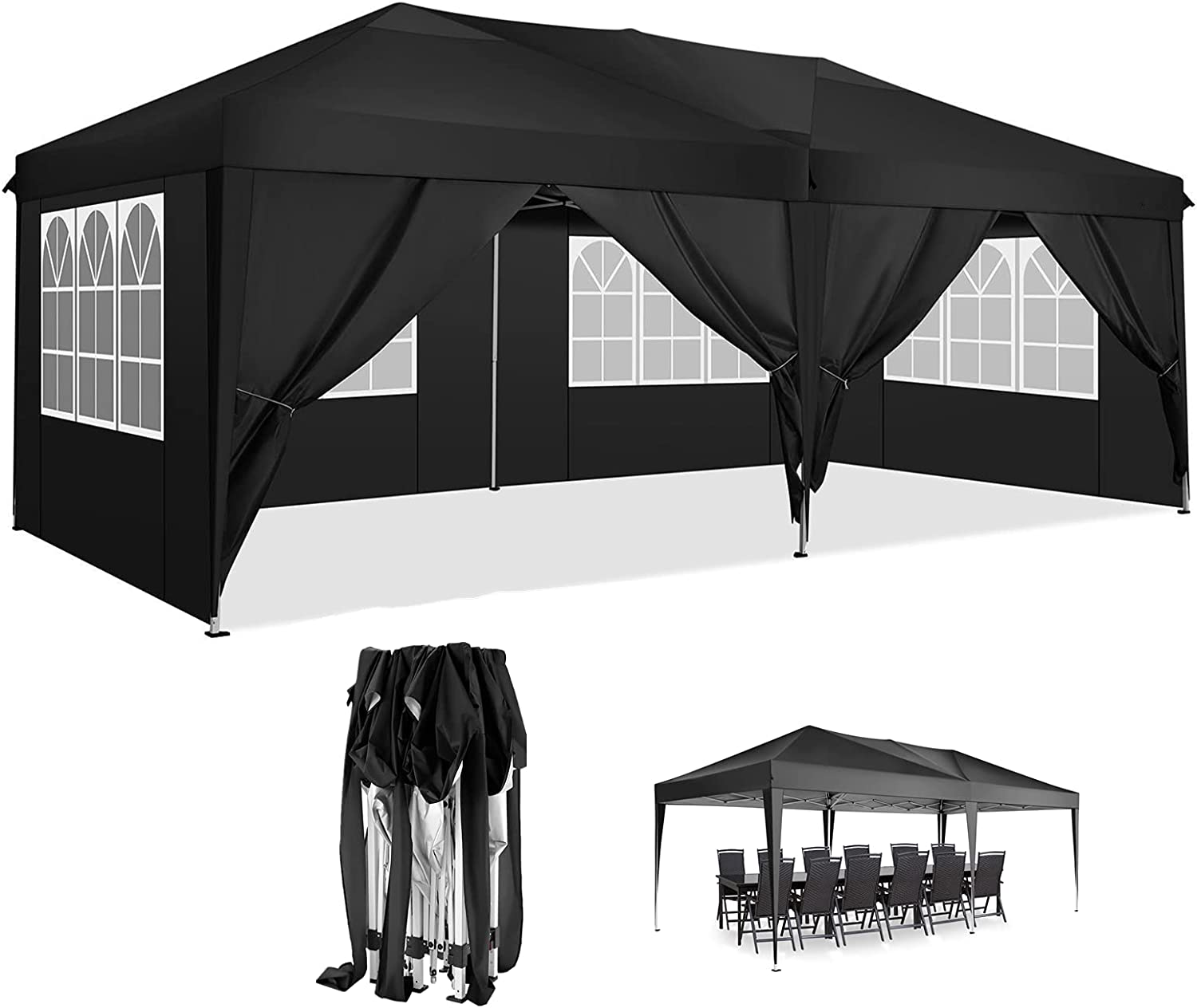Pop-up Canopy Tent 10x20 Max 51% OFF Commercial Outdoor Beac Shelter Ranking TOP4 Instant