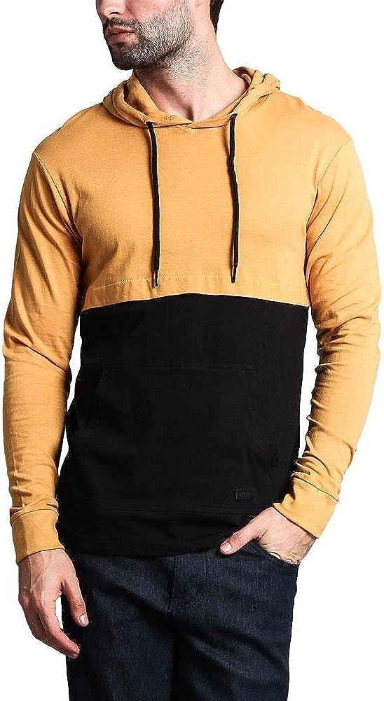 G-Style USA Trendy Long Sleeve Lightweight Drawstring Hoodie