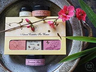 SOS Organics Assorted 6-Piece Natural Bath & Body Gift Set for Women