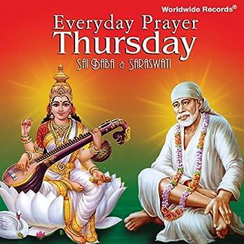 Everyday Prayer Thursday: Saraswati & Sai Baba