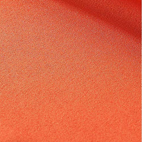 Mantel de Mesa Redonda para Fiesta, manteles de café de Varios tamaños, Mantel de borlas para decoración de Cocina del hogar, Mantel de borlas de 120 cm Naranja