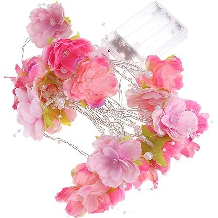 10 Piedi Compleanni Luci Della Stringa del Fiore Decorazioni per la Casa Luci LED Sakura per Feste Luci da Esterno in Fiore di Ciliegio Vacanze Luce Rosa Fiori di Ciliegio Matrimoni