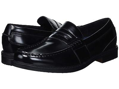 Nunn Bush Lincoln Penny Loafer (Black Polished) Men