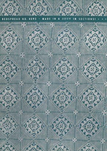Vintage Crochet PATTERN to make MOTIF BLOCK Hepplewh Sale Special Price Bedspread Choice -