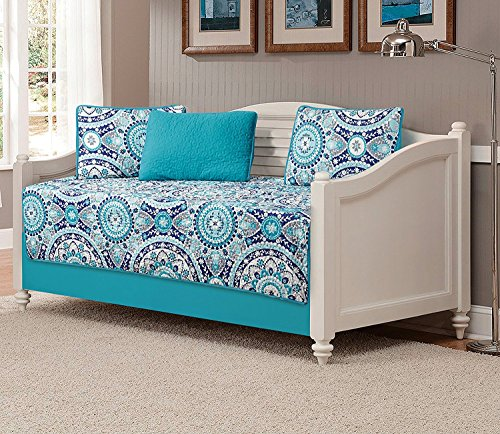 Fancy Collection 5pc Day Bed Quilted Coverlet Daybed Set New (185)