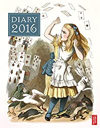 Buchkalender Alice im Wunderland
