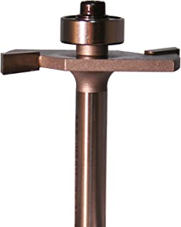 Whiteside Router Bits 1908 Rabbeting, Biscuit Joining and Slotting Bit with 1-1/2-Inch Large Diameter 1/2-Inch Cutting Depth