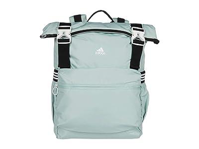 adidas Yola II Backpack (Green Tint/Black/White) Backpack Bags