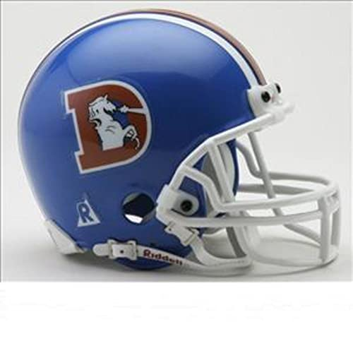 Riddell Denver Broncos Mini Throwback Helmet