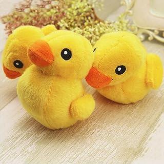 Huhuswwbin - Juguetes Divertidos de Peluche con diseño de Animales de Pato, Color Amarillo