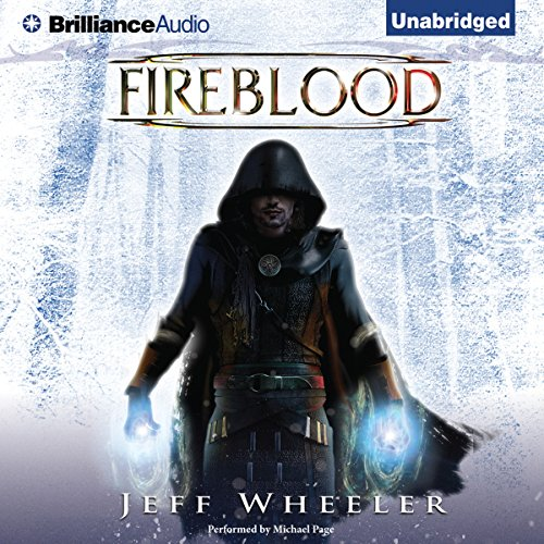Fireblood audiobook cover art