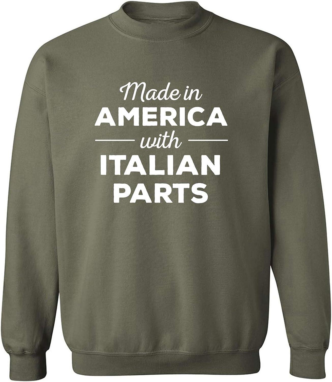 Made In America w/ Italian Parts Crewneck Sweatshirt