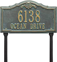 Whitehall 2957BV Personalized Gatewood Plaque – Standard – Lawn – 2..