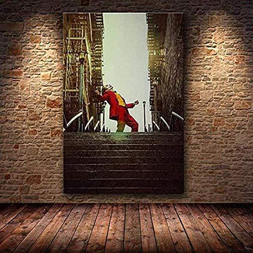 TTLDB Puzzle di Joaquin Phoenix 1000 Pezzi Puzzle in Legno - Joker Poster Film Dc Comic Puzzle Giocattoli Arte Classica X